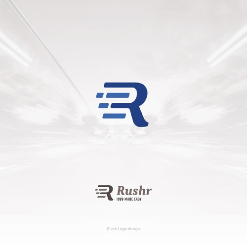 Rushr Logo Design