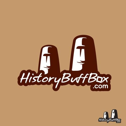 Unique logo concept for History Buff Box