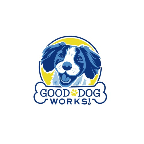 Logo Design for Good Dog Works