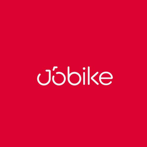 Bike sharing app logo, JoBike