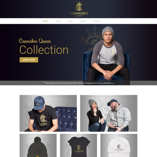 Cannabis Queen - Shopify Theme