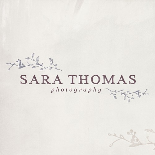 logo for Sara Thomas Photography