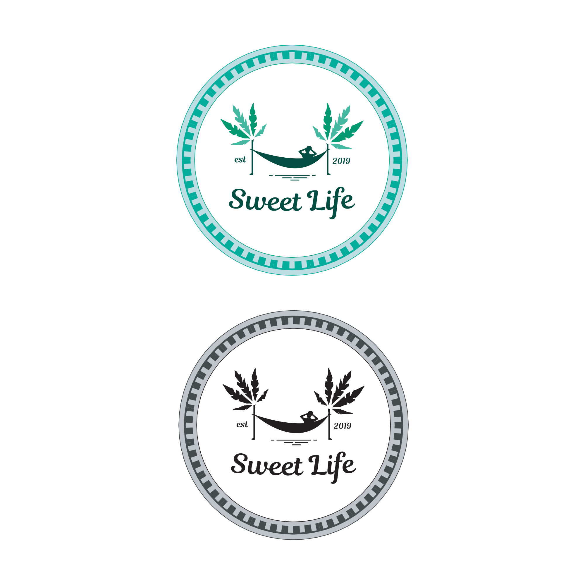 Logo for living the 'Sweet Life'