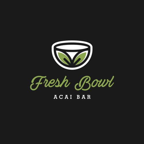Acai Bar Looking For Fresh, Modern and Clean Logo Design