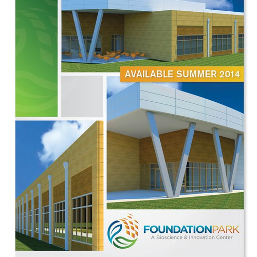 A contemporary brochure: Foundation Park, A Bioscience & Innovation Center