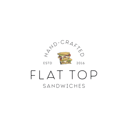 Flat top sendwiches