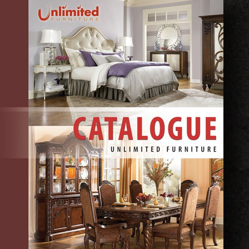Catalogue layout for Unlimited Furniture Group