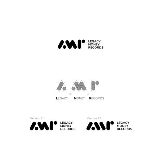 Logo concept for Legacy Money Records