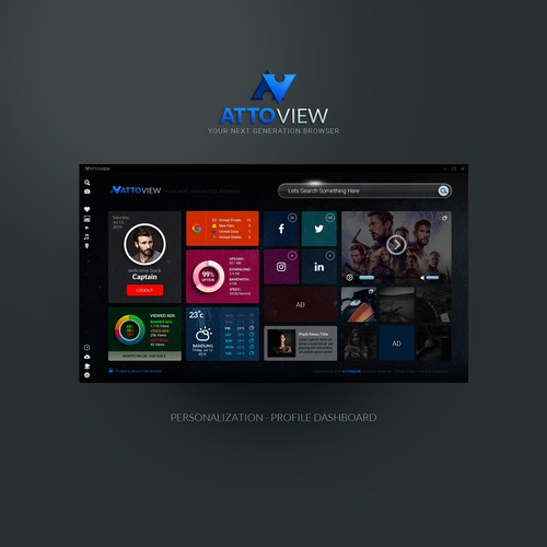 AttoView Browser UI/UX