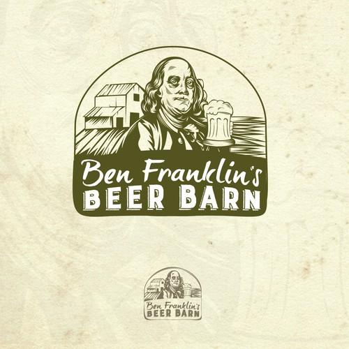 """Beer pub """"Ben Franklin's Beer Barn"""""""