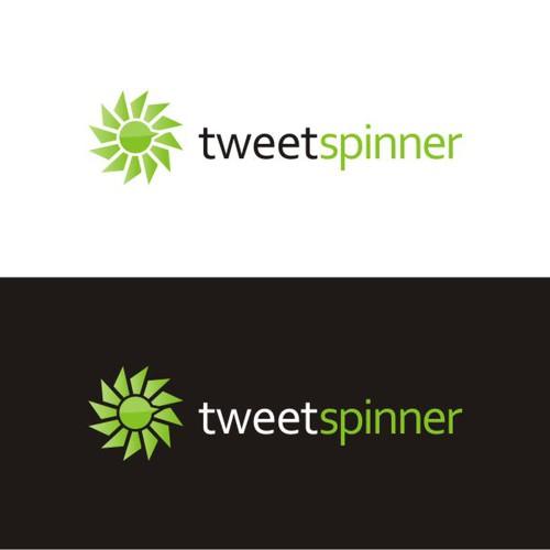 Logo for tweetspinner.com -- leading Twitter-based Web 2.0 app