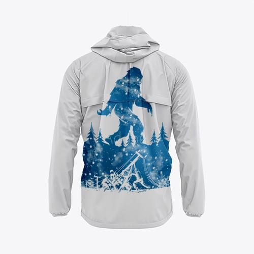 The yeti (imboninal snow man)
