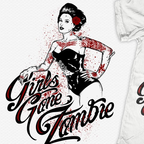 Help Girls Gone Zombie with a new logo