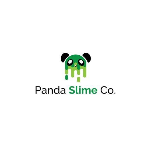Logo Concept for Panda Slime Co.