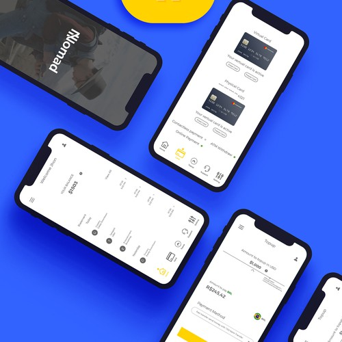 Apps Ui design for iOS/Android