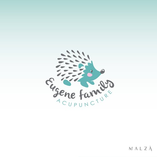 Logo for an Acupuncture Spa