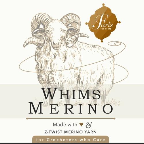 Whims Merino Premium Yarn package