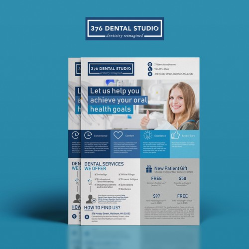 Simple and concise design, revealing the medical theme