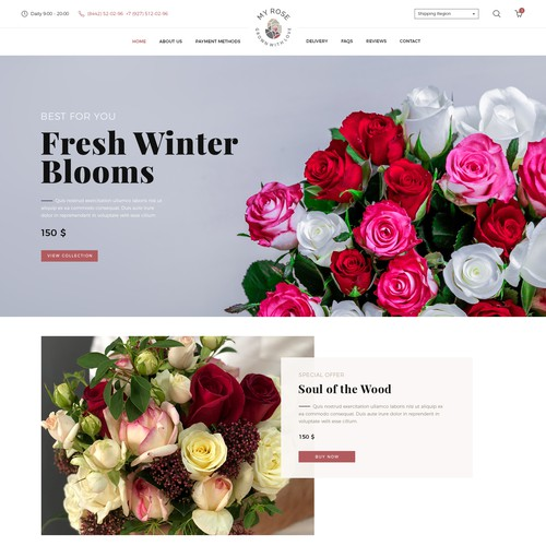 My Rose Web Design