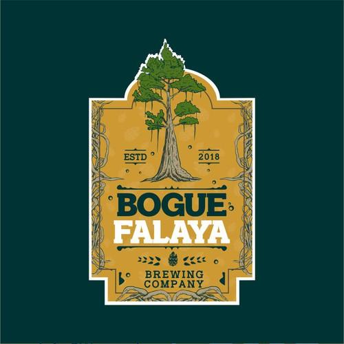 Label concept for BOGUE FALAYA