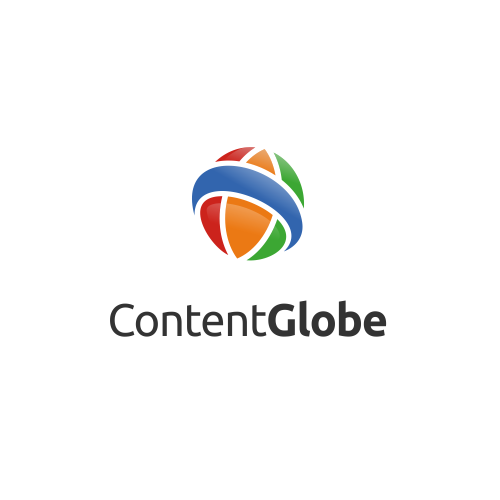 ContentGlobe Logo Design