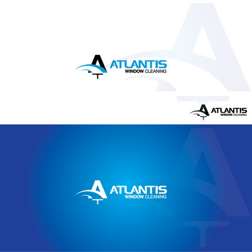 atlatis window cleaning logo