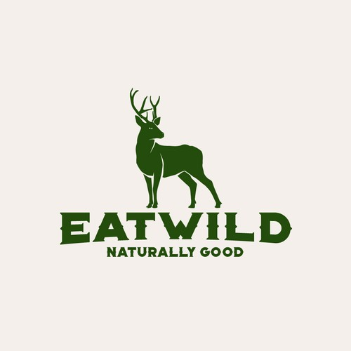 Logo for startup-company which will develop, produce and sale naturally and healthy food made of venison (deer, wild pig, etc.).