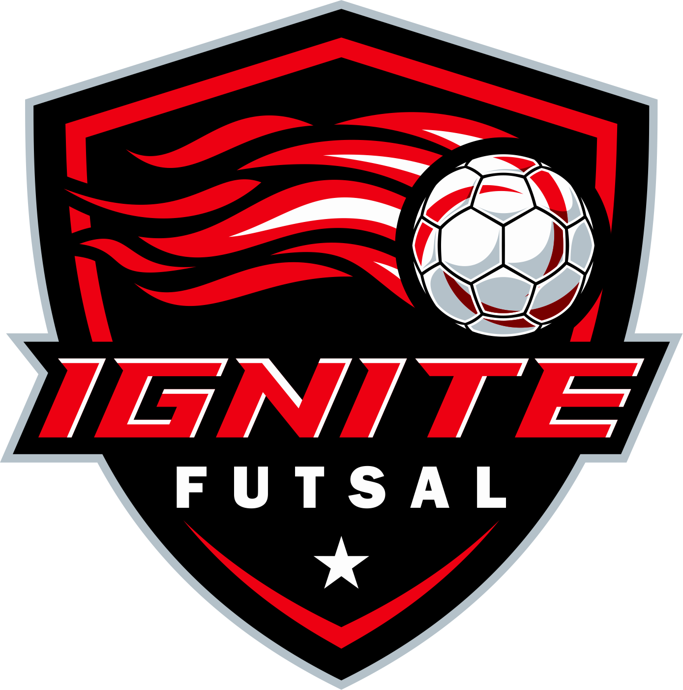 Create a unique and powerful logo for a youth sports company - Ignite Futsal
