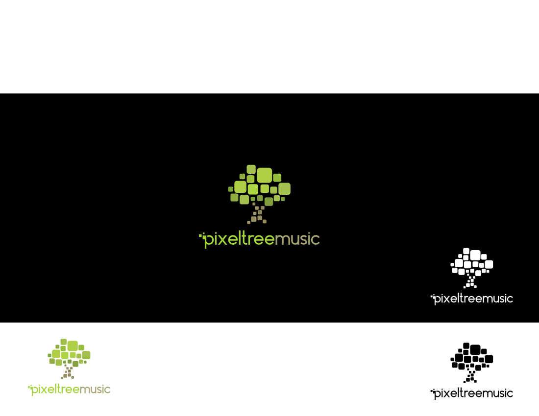 Pixel Tree Music needs a new logo