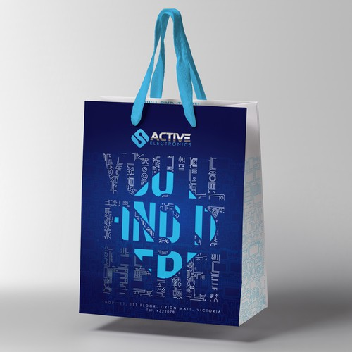 Bag, Electronic Shop