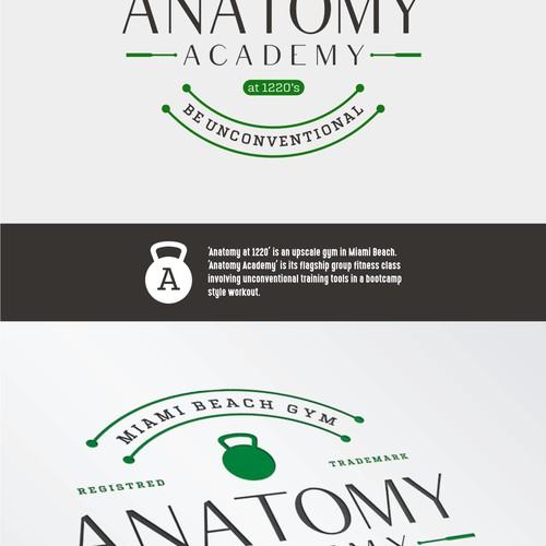 Anatomy Academy logo design