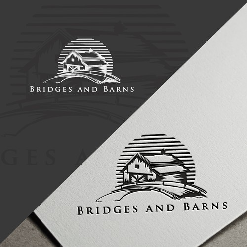 Logo concept for Bridges and Barns