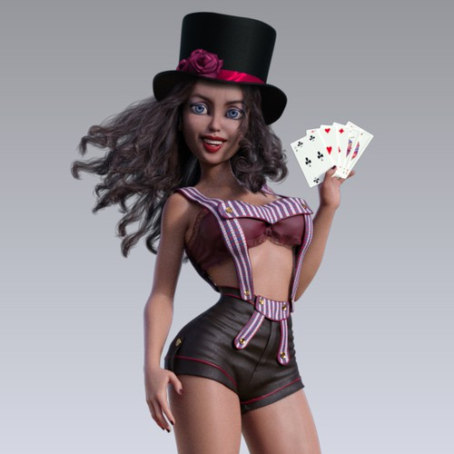 Character for a fun online casino