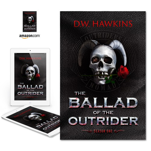 "eBook cover for ""The Ballad of the Outrider"""