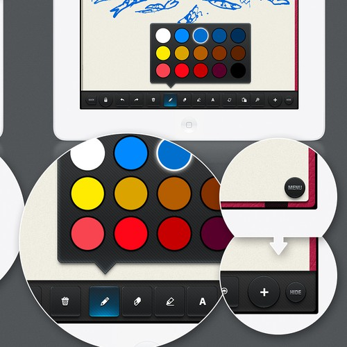Design a Beautiful Sketching iPad App for Fishington Studios!
