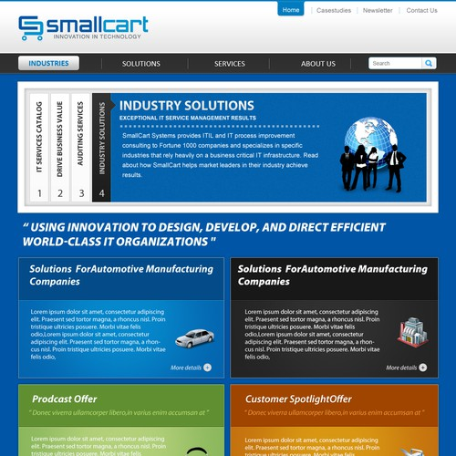 Information Technology Consulting Home Page
