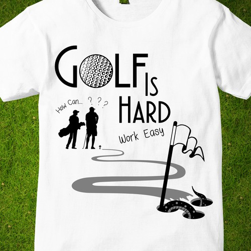 Golf is hard contes