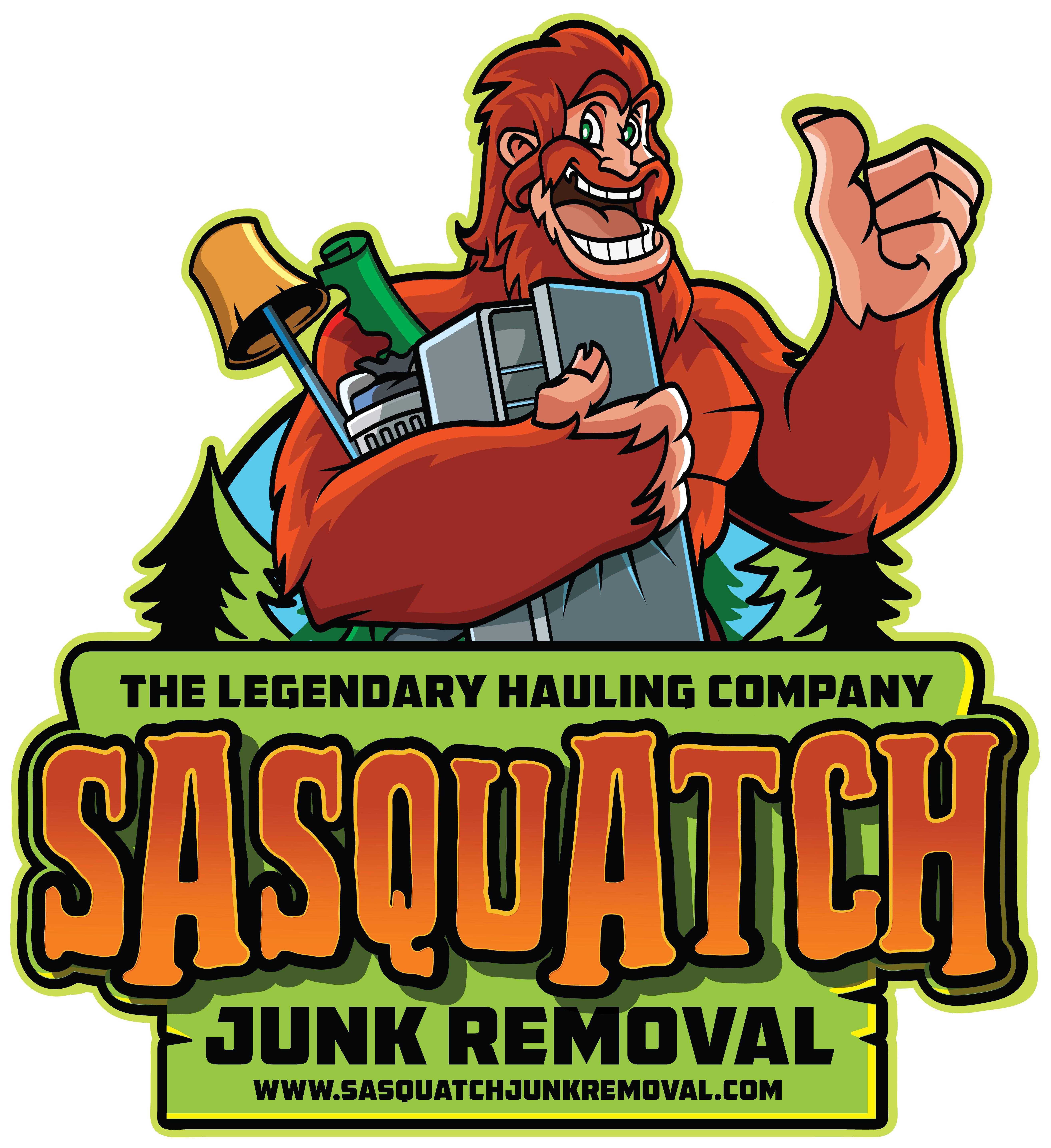 SASQUATCH! Design a fun Junk Removal logo for an expanding company!