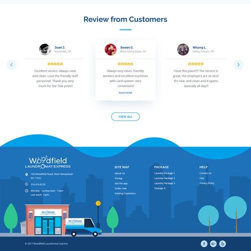 Woodfield Laundromat Express Homepage