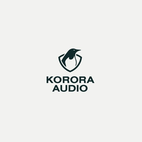 Minimal logo proposal for audio company