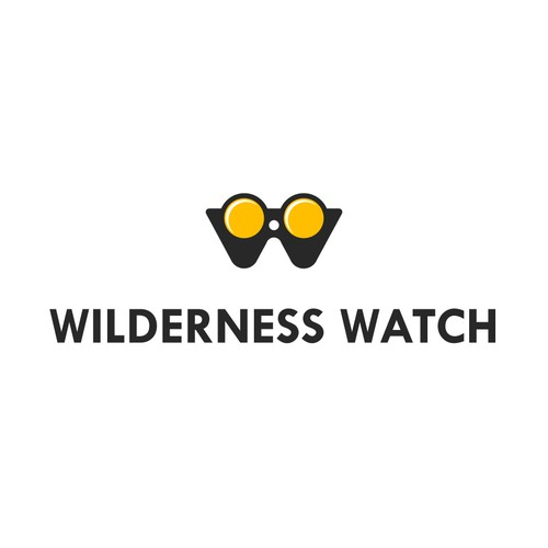 Minimal Logo for Non-Profit Wilderness Watch