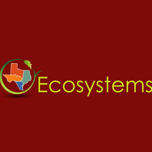 Design a simple logo promoting sustainability, resilience, and stewardship of open lands in Texas