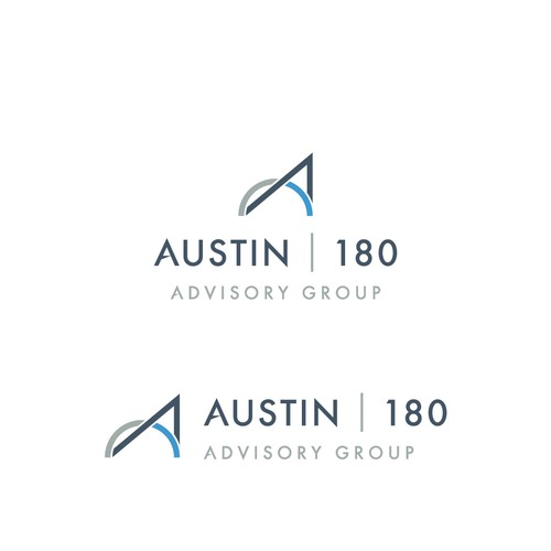 a modern minimalist logo for an upstart investment firm