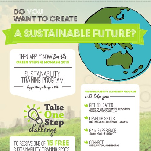 """""""Take One Step"""" with Green Steps sustainability training"""