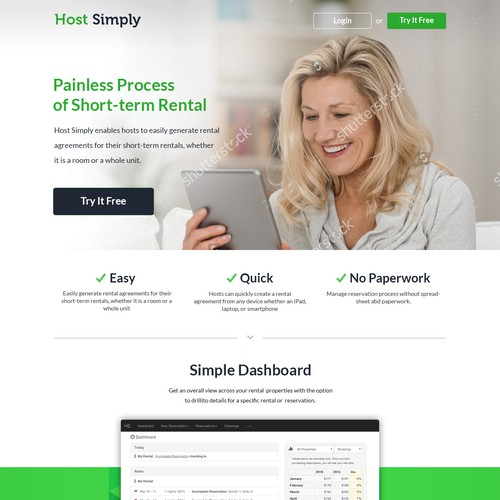 Web Design For Host Simply