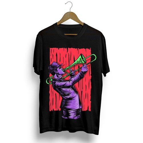 Design a hip Trombone T-Shirt