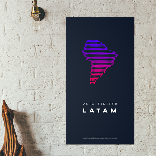 Modern and unique logo for Auto fintech Latam
