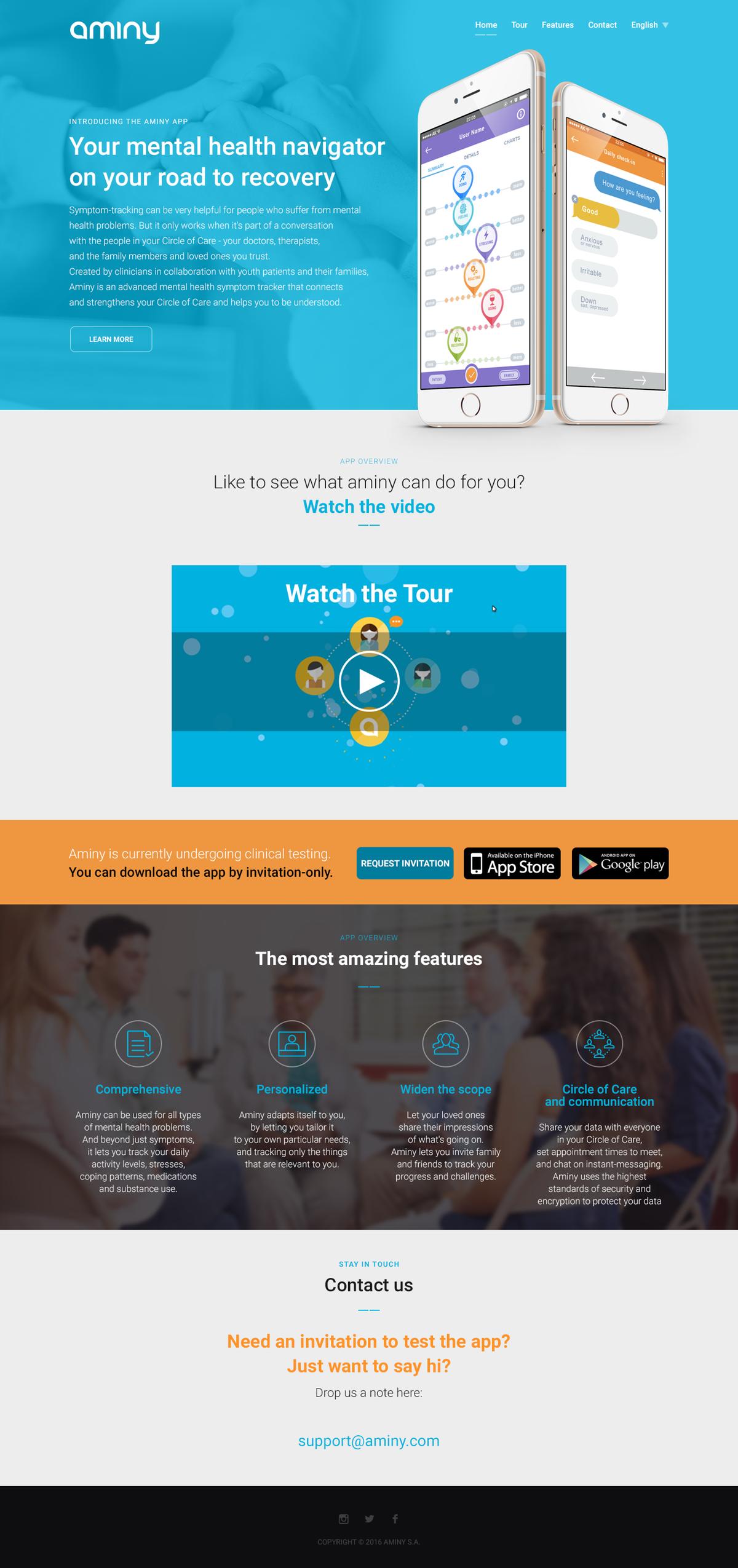 Design website for my app