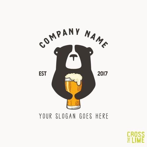 Vintage Beer Bear