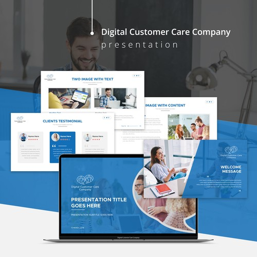Digital Customer Care Company Presentation